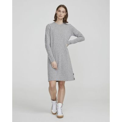 Foto van Holebrook Ada wollen jurk grijs