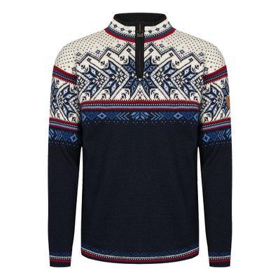 Foto van Dale of Norway Vail unisex sweater Blauw