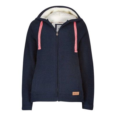 Foto van Weird Fish Full Zip Big Mac Hoody Navy