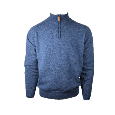 Foto van William Lockie Dori Zip Neck jeans/navy
