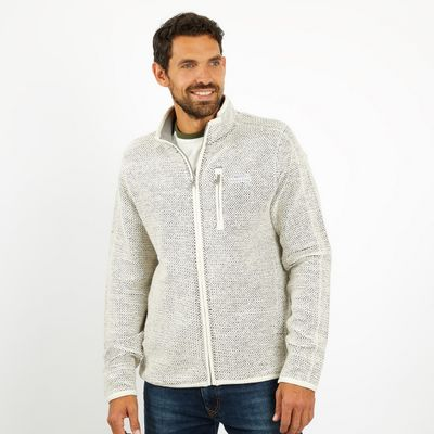 Foto van Weird Fish Transom Full Zip Ecru