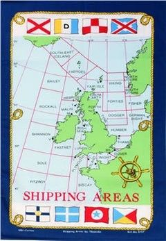 Foto van Theedoek Shipping Areas