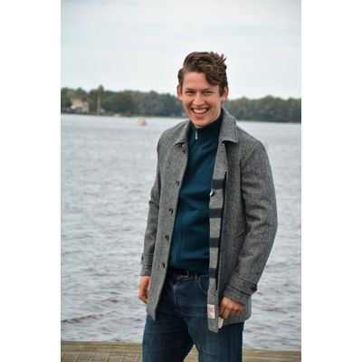 Foto van Camplin Overcoat Harris Tweed