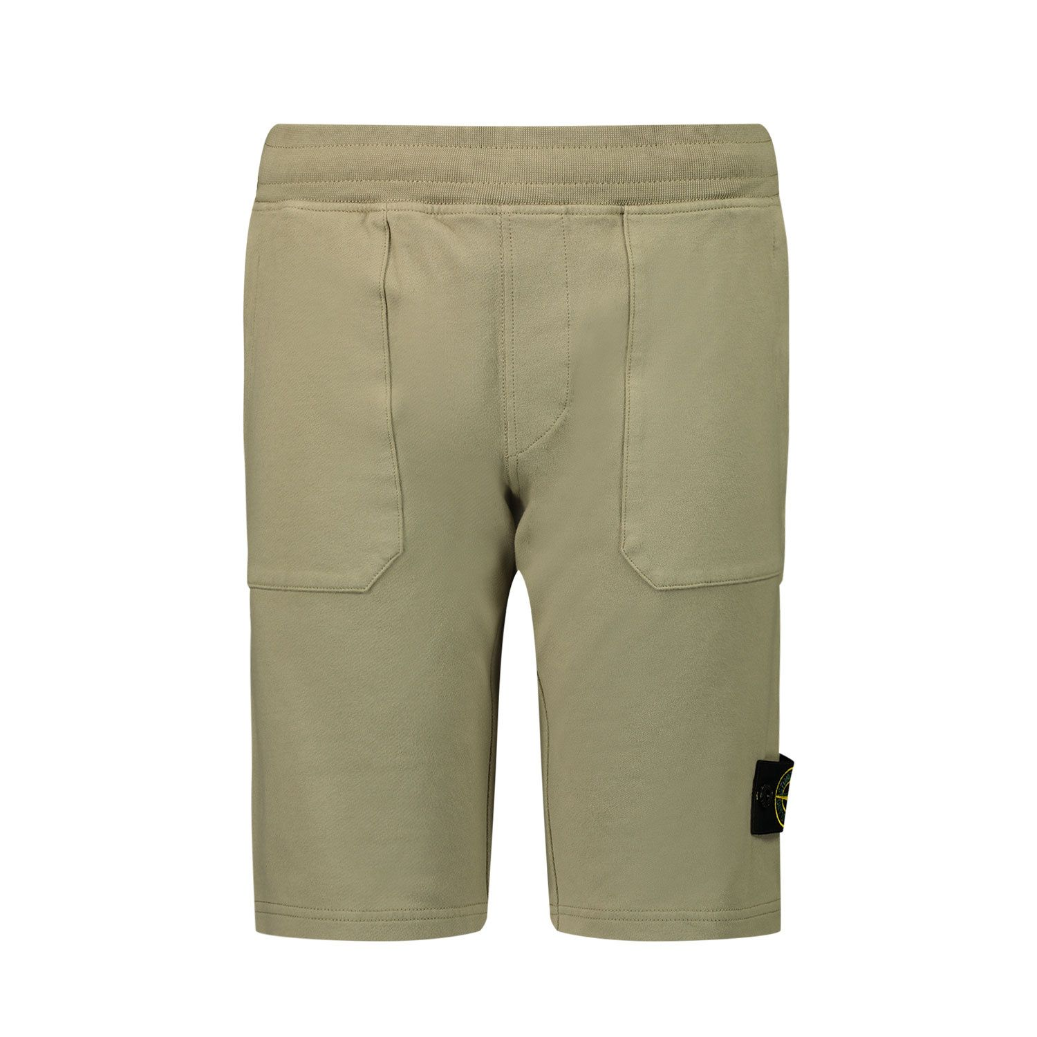Picture of Stone Island 61442 kids shorts beige