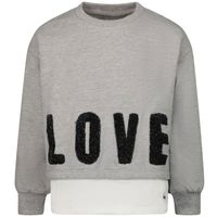 Picture of Guess K1YQ05 K kids sweater grey