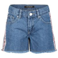 Picture of Guess J92D04 kids shorts jeans