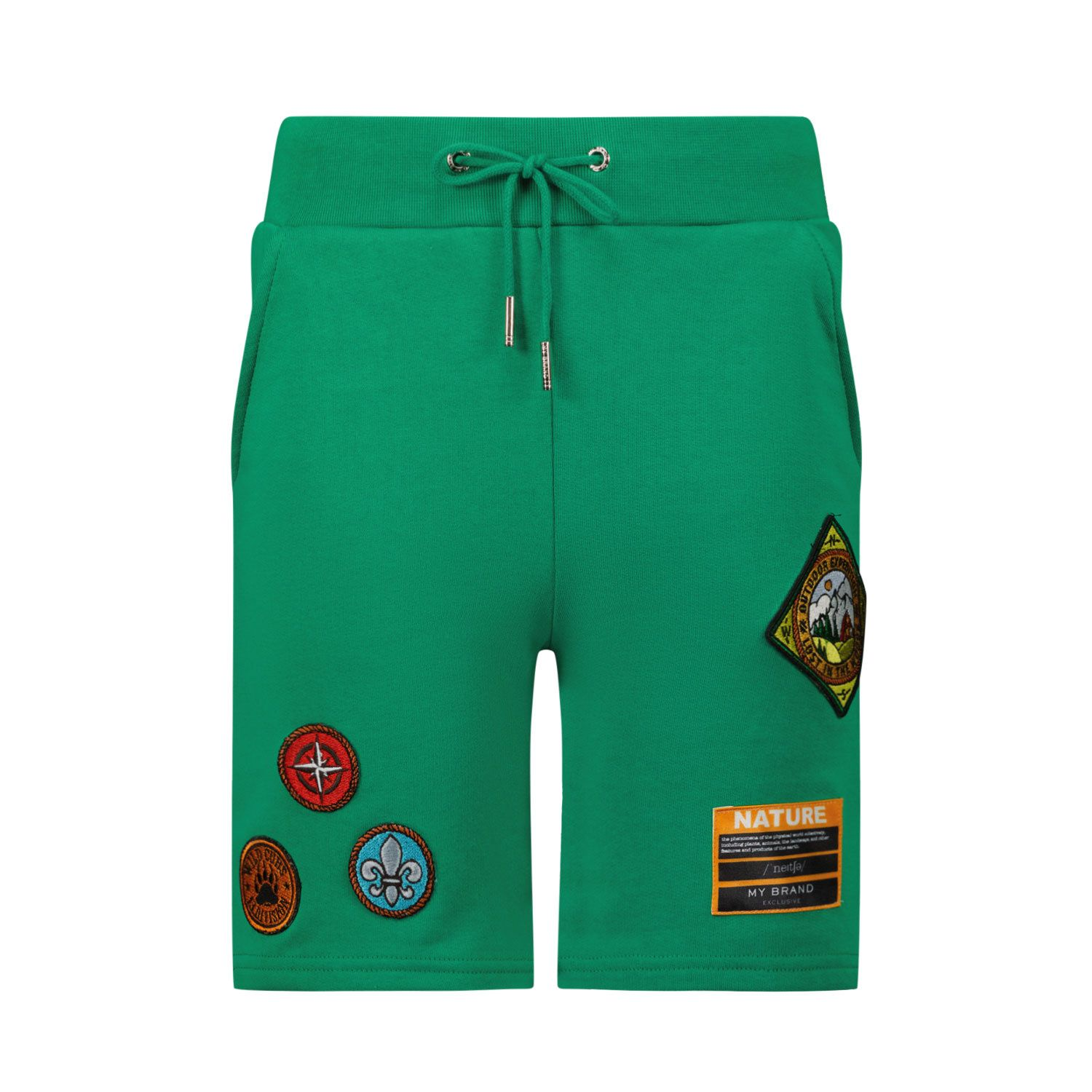 Picture of My Brand 3X21007A0002 kids shorts green