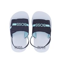 Picture of Boss J09143 kids sandals navy
