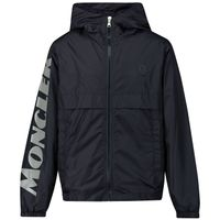 Picture of Moncler 1A72320 kids jacket dark blue
