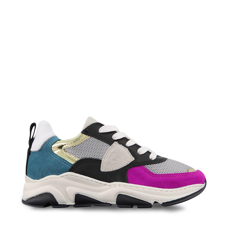 Picture of Philippe Model AI20EZL0 kids sneakers fuchsia