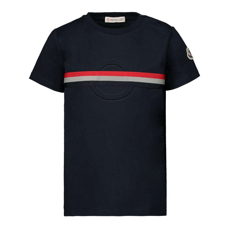 Bild von Moncler 8C71920 Baby-T-Shirt Marine