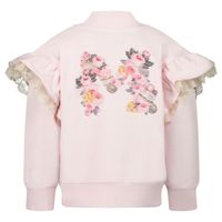 Picture of MonnaLisa 398801R3 baby vest light pink