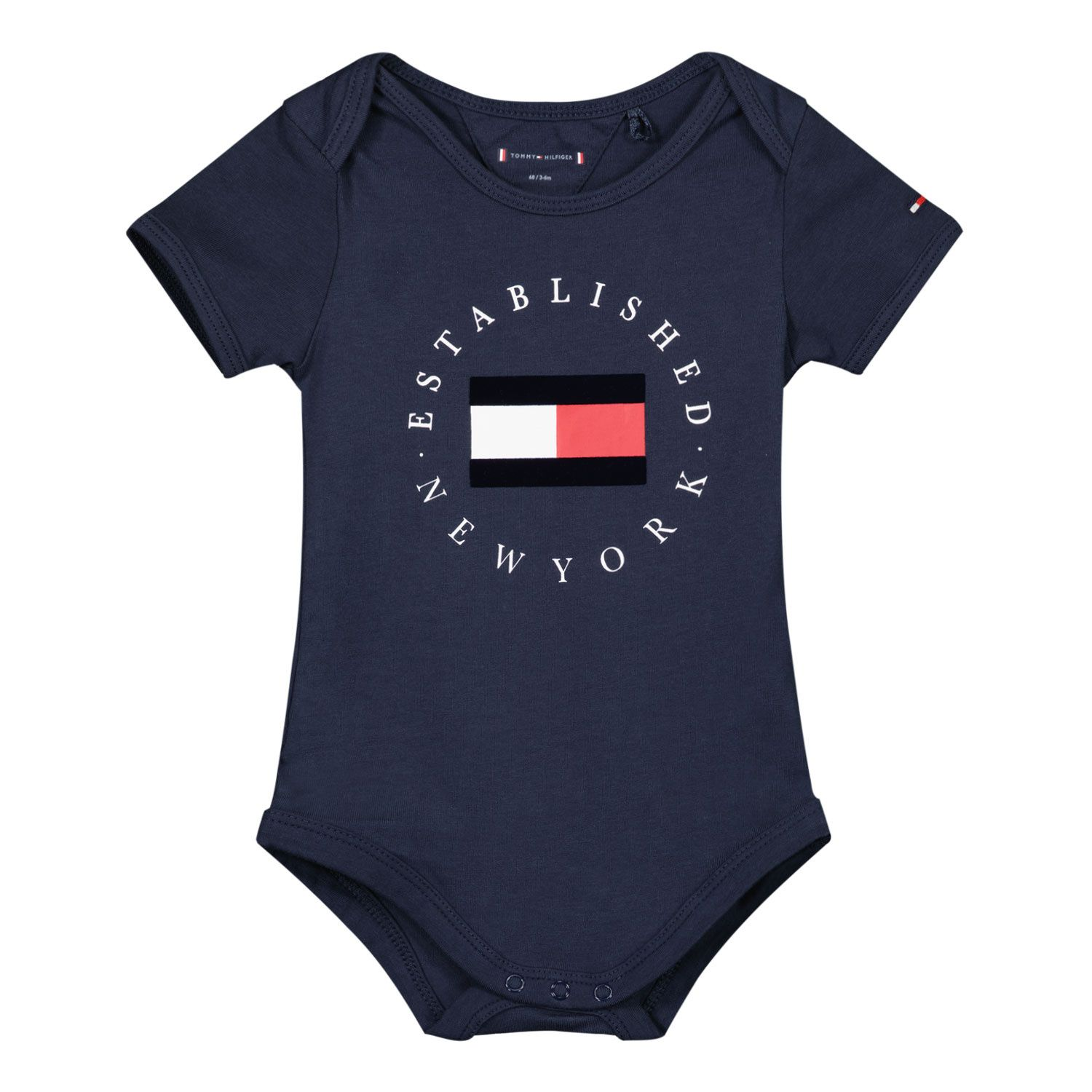 Picture of Tommy Hilfiger KN0KN01289 rompersuit navy