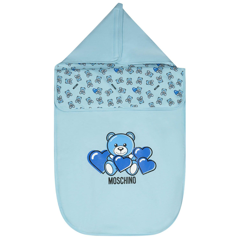Afbeelding van Moschino MXE005 babyaccessoire licht blauw