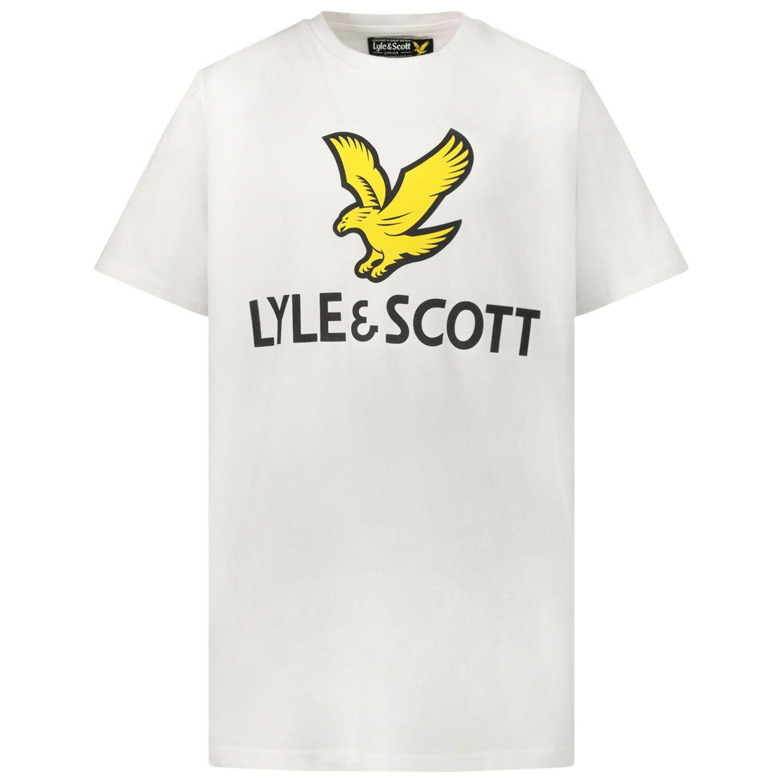 Afbeelding van Lyle & Scott LSC0815 kinder t-shirt wit