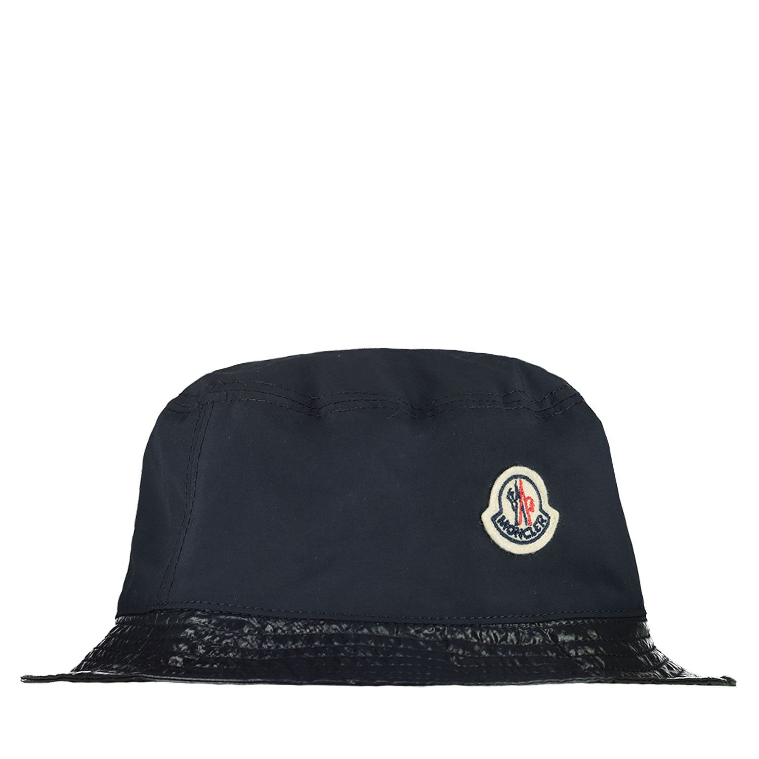 Picture of Moncler 3B70900 baby hat navy