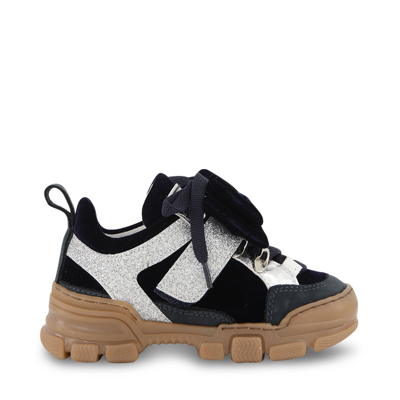 Picture of MonnaLisa 8C8017 kids sneakers navy