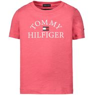 Afbeelding van Tommy Hilfiger KB0KB05619 kinder t-shirt roze