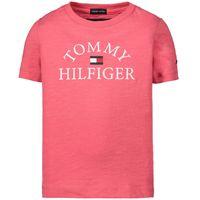 Picture of Tommy Hilfiger KB0KB05619 kids t-shirt pink