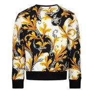 Afbeelding van Versace YB000202 baby trui zwart