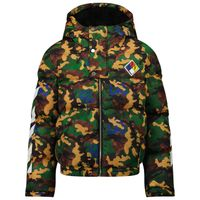 Picture of Off-White FAB0015645 kids jacket army