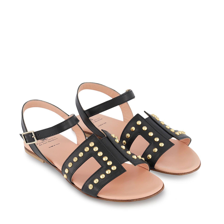 Picture of Elisabetta Franchi 68126 kids sandals black