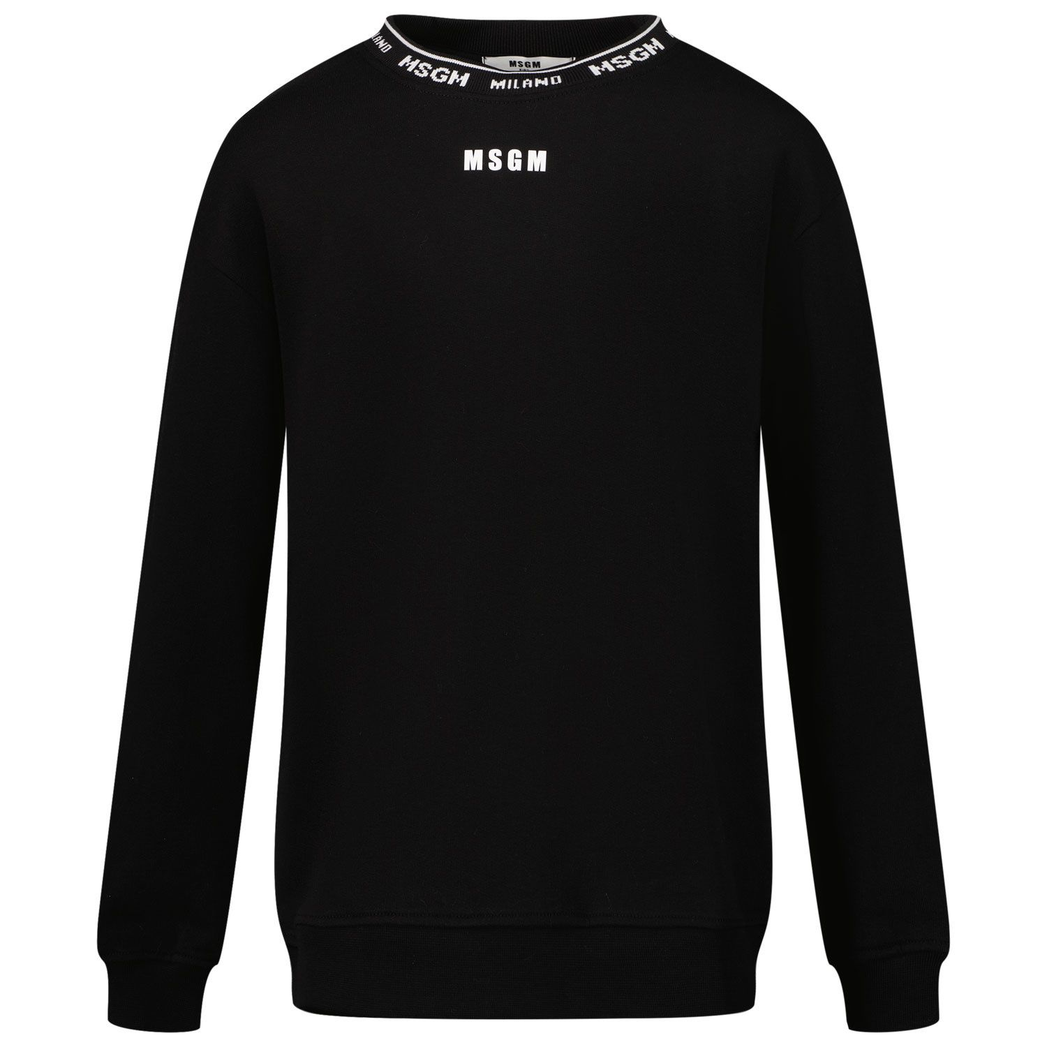Picture of MSGM 27680 kids sweater black