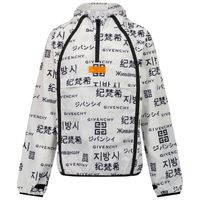 Picture of Givenchy H26075 kids jacket white