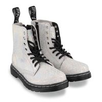 Picture of Dr. Martens 26027045 kids boots silver
