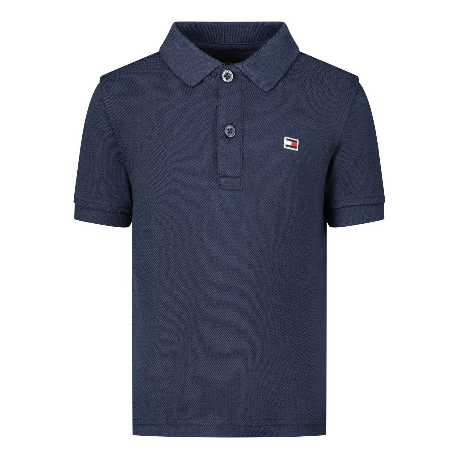 Picture of Tommy Hilfiger KB0KB05660B baby poloshirt navy