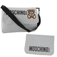 Picture of Moschino MQX036 diaper bags light gray