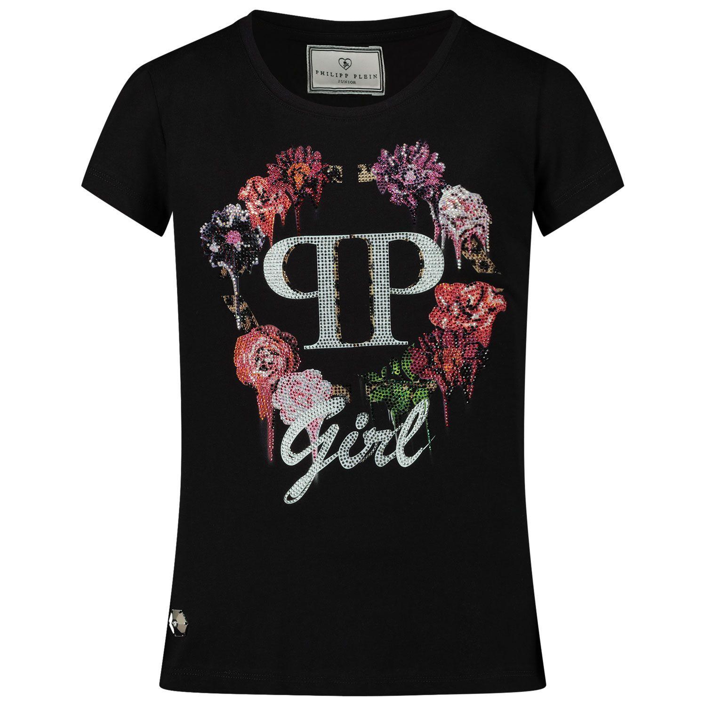 Picture of Philipp Plein F20C GTK0565 kids t-shirt black