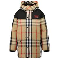 Picture of Burberry 8041159 kids jacket beige