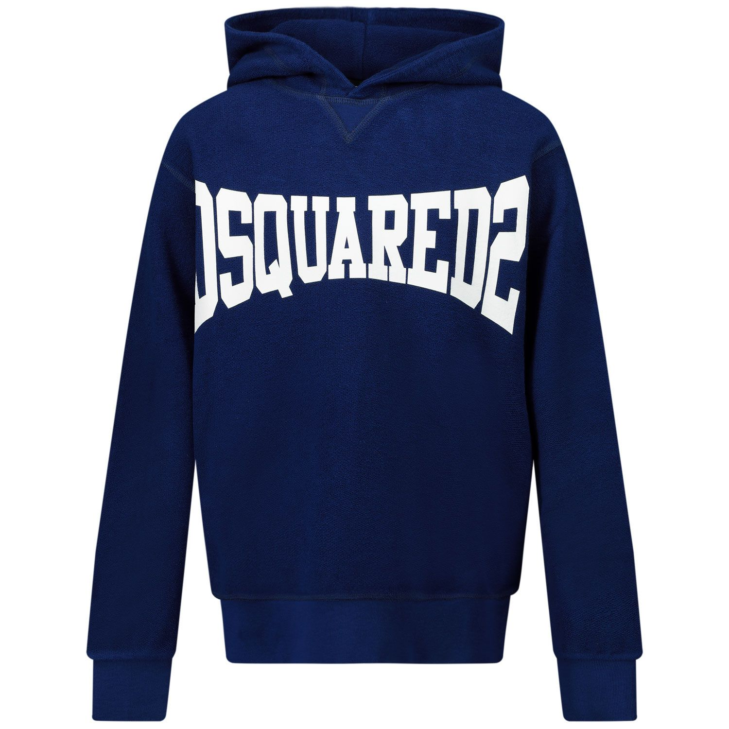 Picture of Dsquared2 DQ0071 kids sweater blue