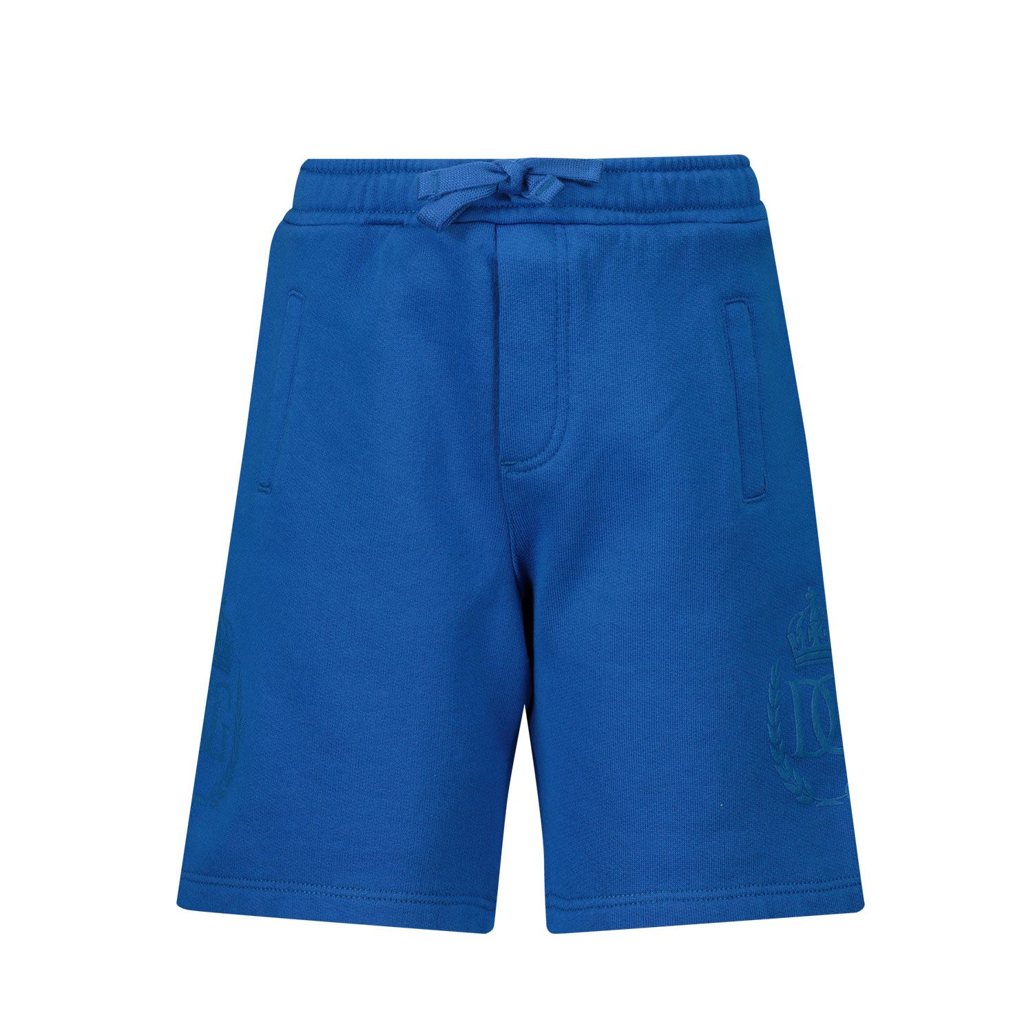 Picture of Dolce & Gabbana L1JQH5 G7YFI baby shorts turquoise
