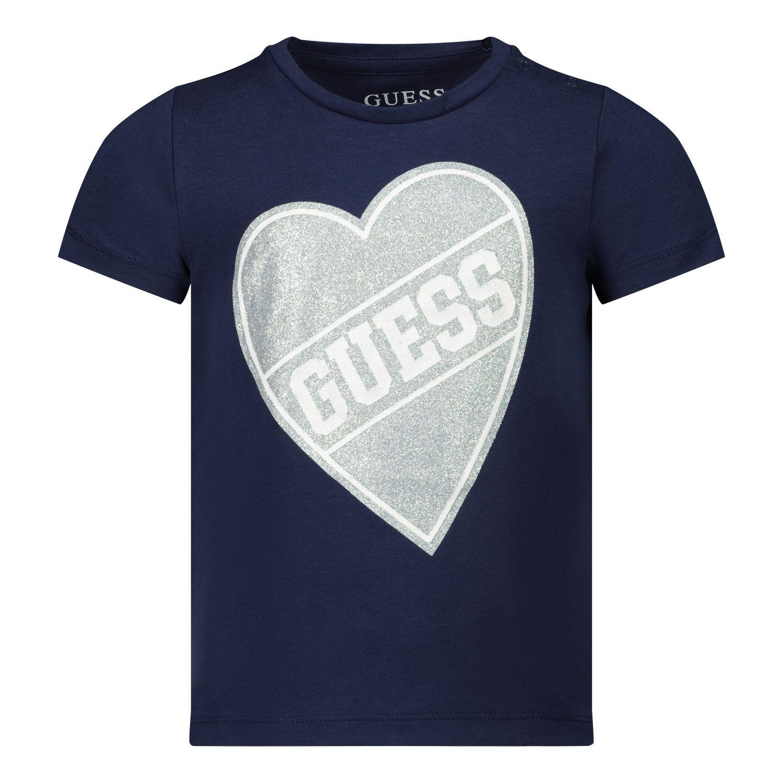 Bild von Guess K0YI02/K6YW0B Baby-T-Shirt Marine