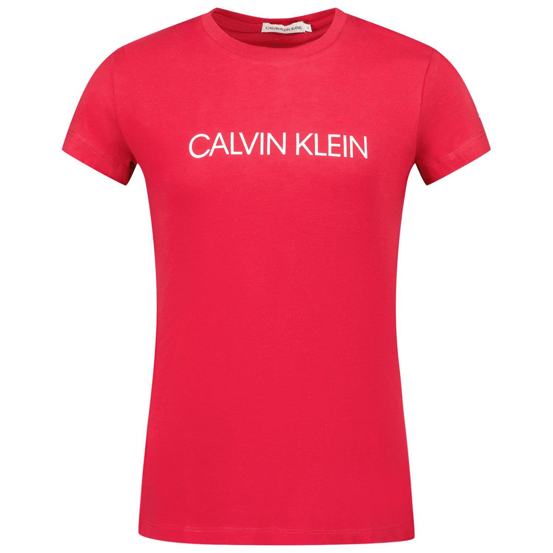 Afbeelding van Calvin Klein IG0IG00380 kinder t-shirt fuchsia