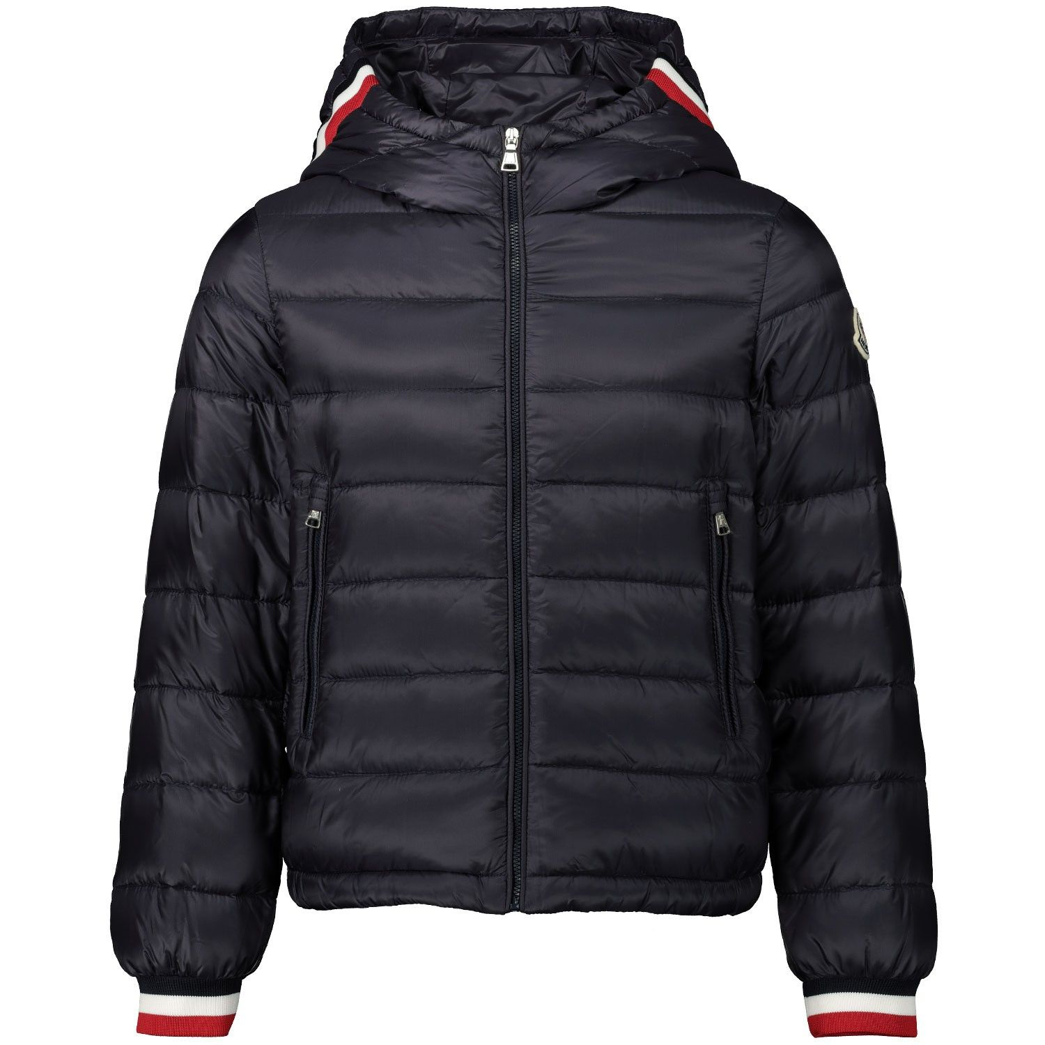 Picture of Moncler 1A11220 kids jacket navy