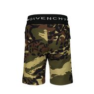 Afbeelding van Givenchy H04099 baby shorts army