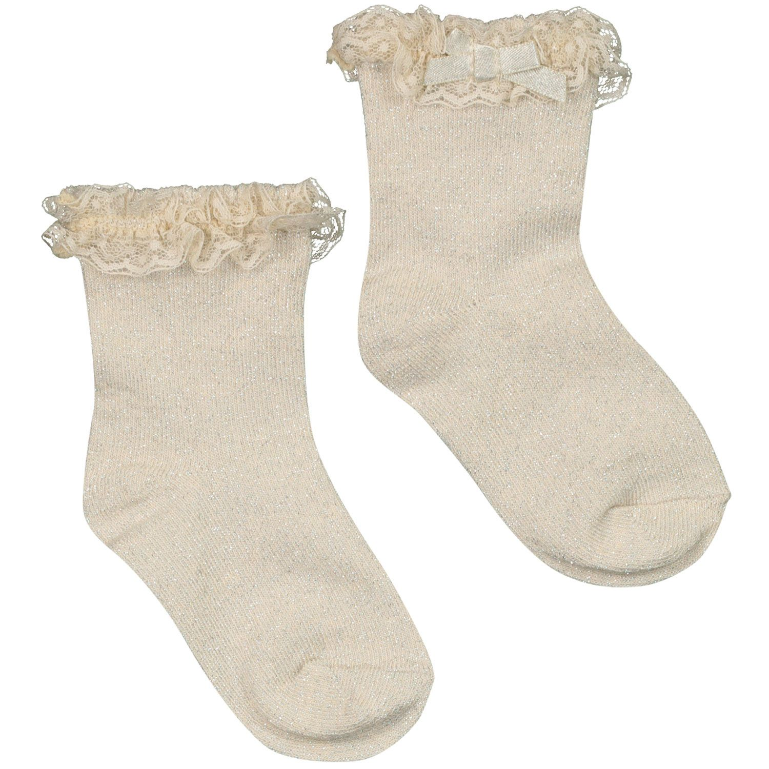 Picture of Mayoral 9367 baby socks gold