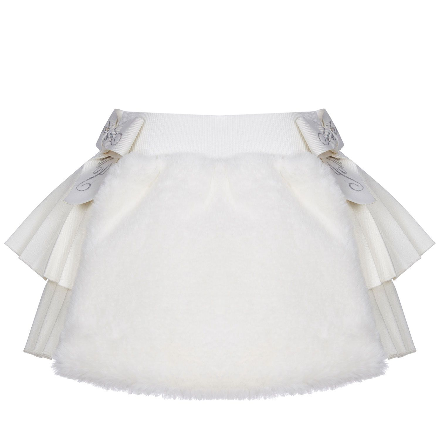 Picture of Lapin 212E3350 baby skirt off white