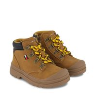 Picture of Tommy Hilfiger 32084 kids sneakers camel