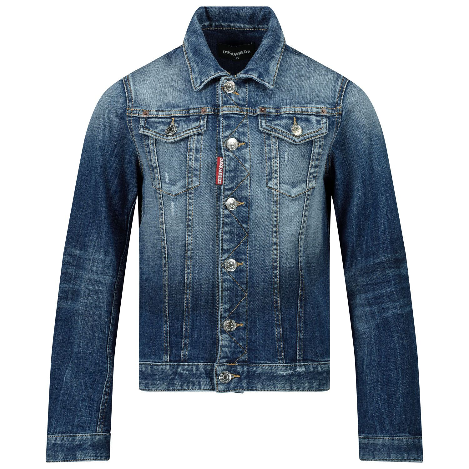 Picture of Dsquared2 DQ01GT kids jacket jeans