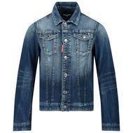 Afbeelding van Dsquared2 DQ01GT kinderjas jeans