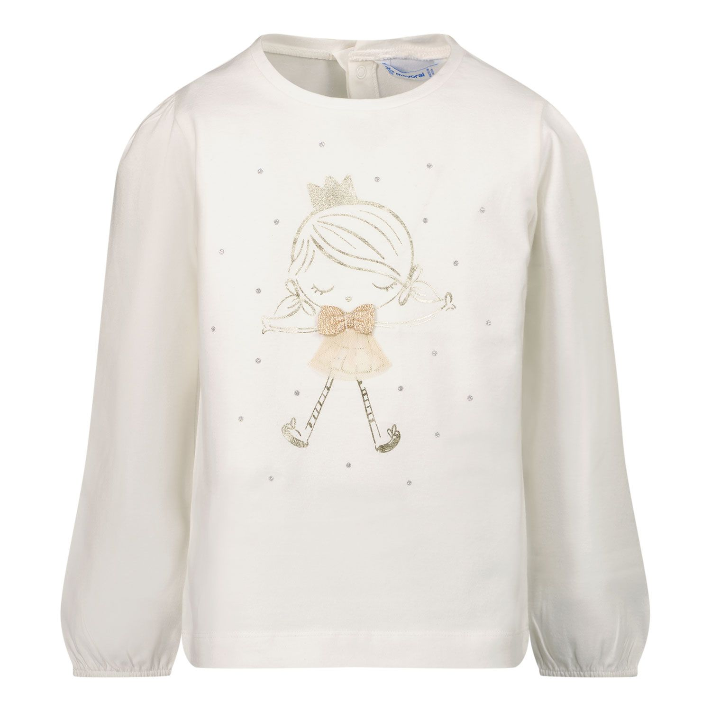 Afbeelding van Mayoral 2084 baby t-shirt off white