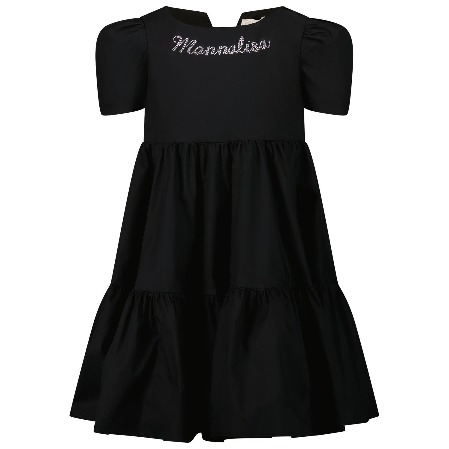Picture of MonnaLisa 177904A1 kids dress black