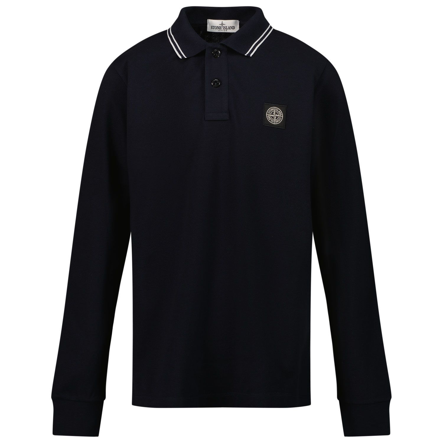 Picture of Stone Island 20748 kids polo shirt navy