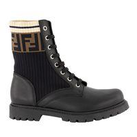 Picture of Fendi JMR329 kids boots black
