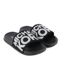 Picture of Michael Kors ZIA JET JAE kids flipflops black