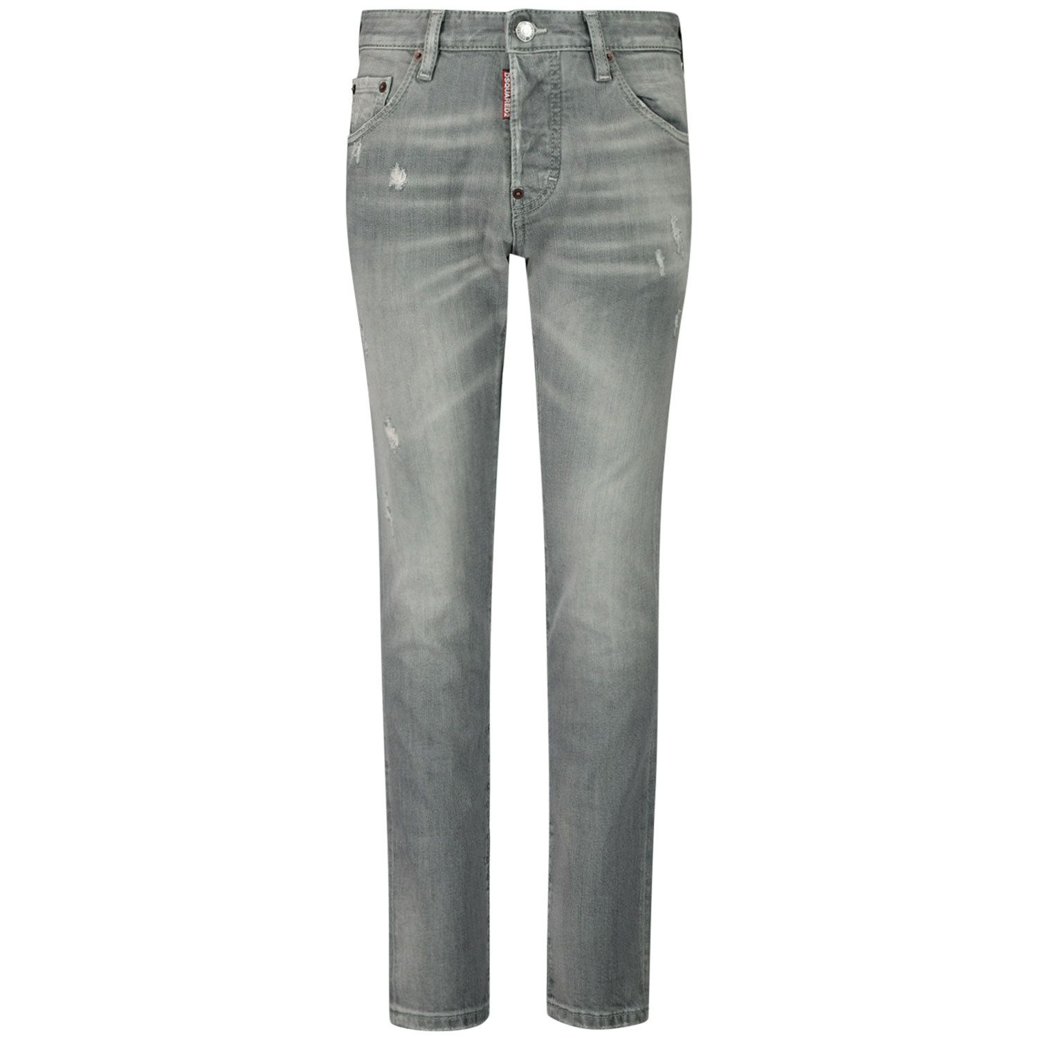 Picture of Dsquared2 DQ01PW D001S kids jeans light gray